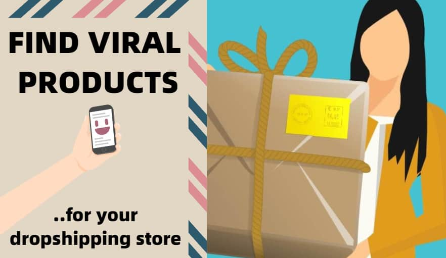 strategy to find viral products for dropshipping.