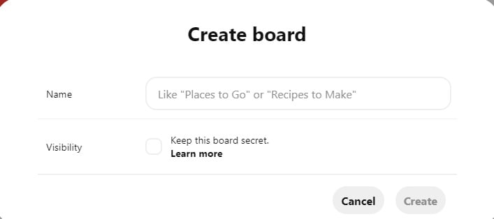 you can use a secret pinterest board to save your results.