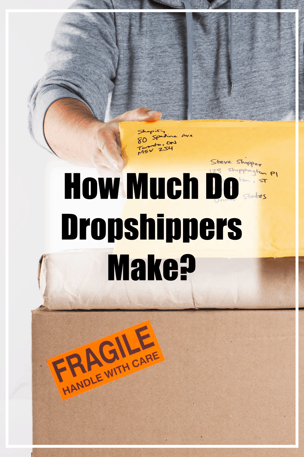 today we have shown you how much some dropshippers really make!